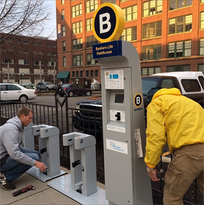 Photo courtesy of Pacers Bike Share.