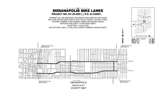 Bike Lane Map