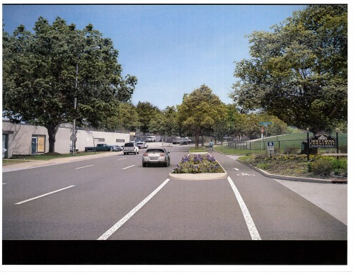 Proposed Separated Bike Lane - Highland Park