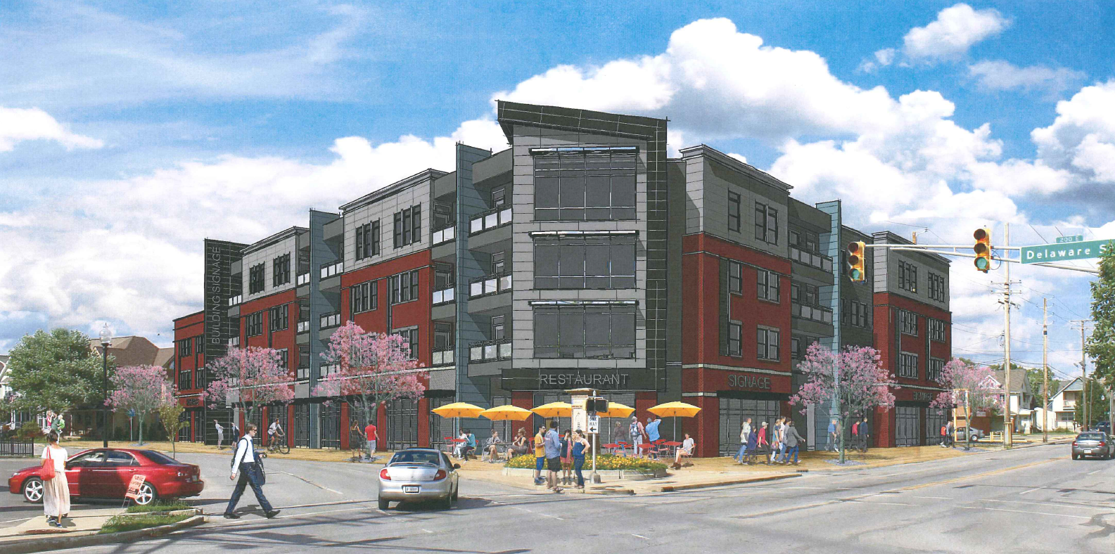 Mixed Use Project Coming To 22nd And Delaware Urban Indy