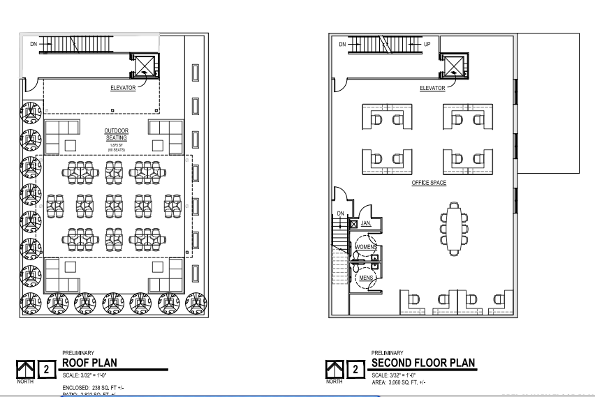 2 story commercial office building plans for 2 story commercial building plans