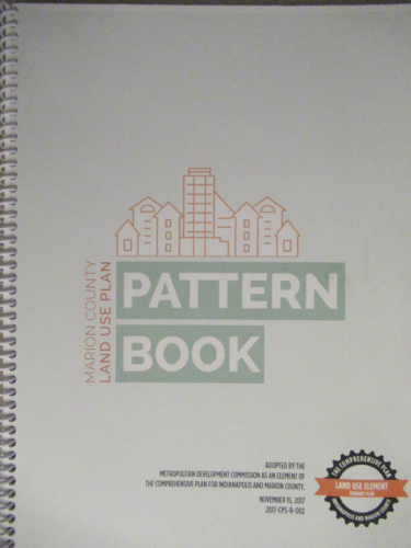 Front of Marion County Land Use Pattern Book