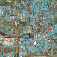 Downtown Indianapolis Parking Lot Comparison: 2011 to 2018
