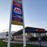 Gas prices rise, Indiana plans more roads
