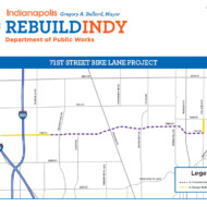 Construction to Begin on West 71st & N College Bikeway