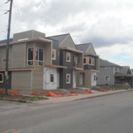 SEND new construction: multi-unit infill in two emerging neighborhoods.
