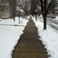 An Urban Indy PSA: Shovel Your Sidewalks