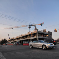 Broad Ripple Parking Garage Construction Update 2