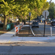 Cornell Ave Construction Update 1