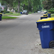 Curb Side Recycling in Indianapolis