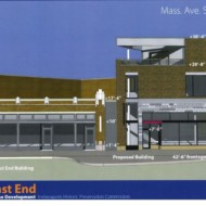 New Mixed-Use Structure Proposed for Mass Ave's East End