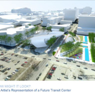 Downtown Transit Center Design open for bidding