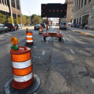 Downtown Indy construction sacrifices mobility for cyclists