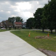 Delaware and Fall Creek Redesign Project Opens Public Space