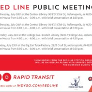 Red Line Public Meetings begin next week