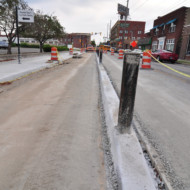 Shelby Street Bike Track – Update 1