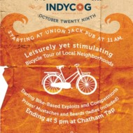 IndyCog Tweed Ride this Saturday